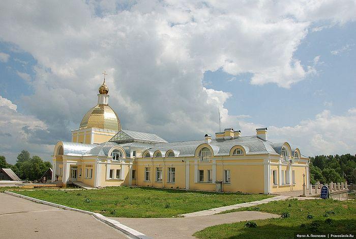 Мужской монастырь «Спаса Нерукотворного Пустынь» в селе Клыково