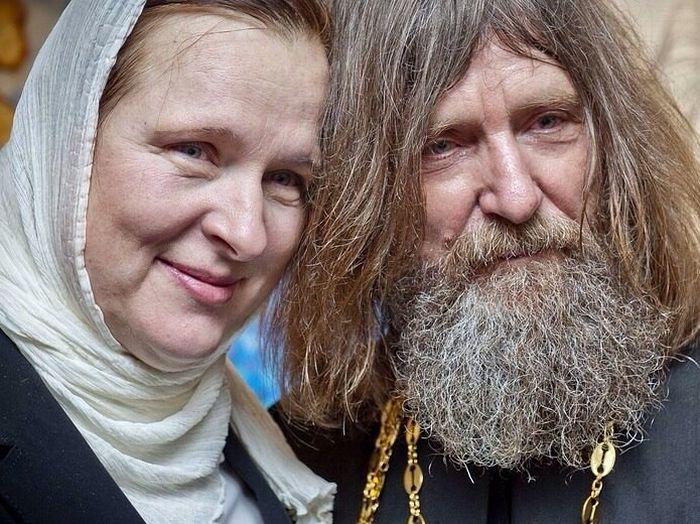 О. Федор Конюхов с супругой Ириной