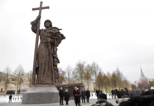 В День Крещения Руси состоится крестный ход к памятнику князя Владимира