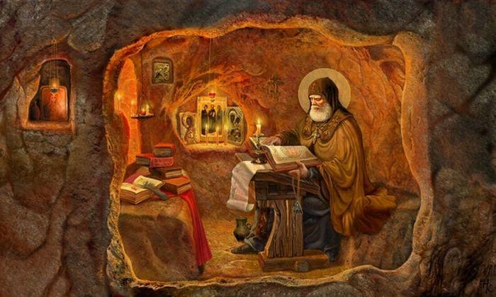 Преподобный Иоанн Вышенский