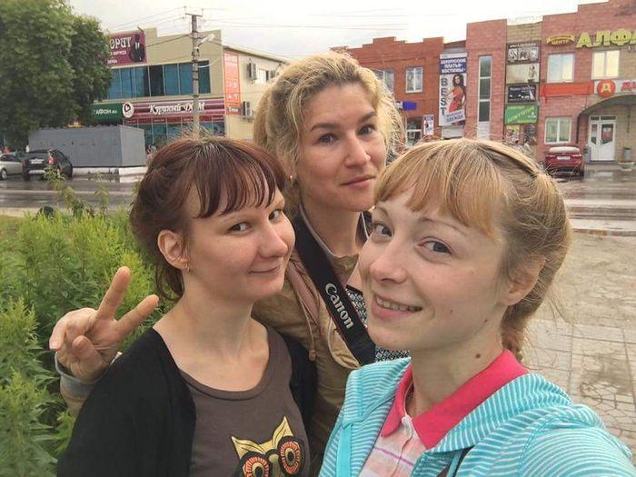 Надя, Ира, Юля