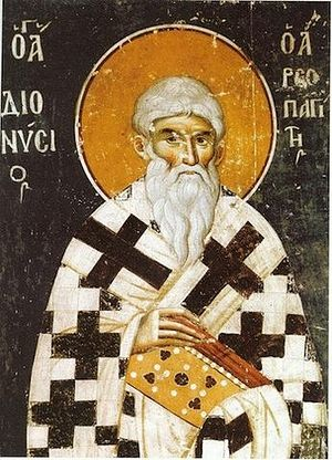 St. Dionysios the Areopagite. Photo: orthodoxmonasteryicons.com