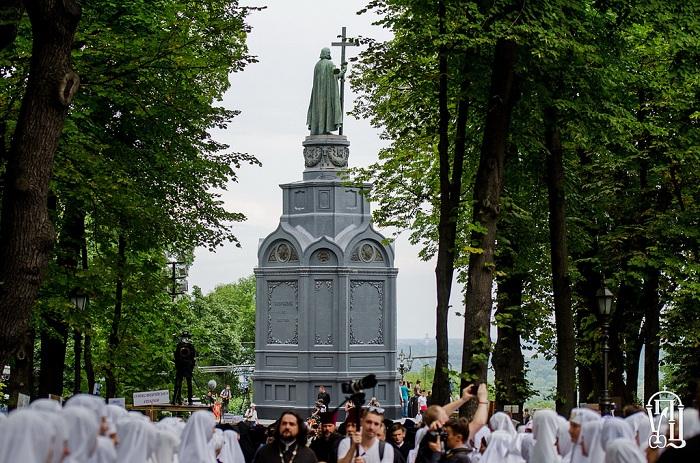 Споменик Светом кнезу Владимиру у Кијеву