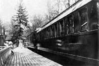 Царский поезд, где Государь император Николай II подписал отречение от престола
