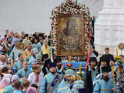 Святогорская лавра прославила свою главную святыню