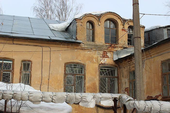 Здание бывшей внутренней тюрьмы ОГПУ НКВД в Сыктывкаре, где проводились допросы новомучеников в 1937-38 годах