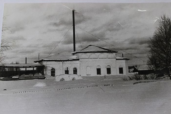 В 1978 году в храме села Аныб располагалась котельная