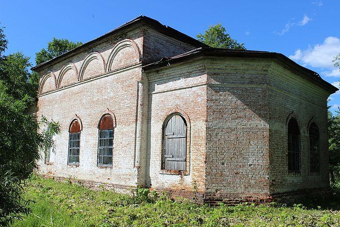Преображенский храм села Аныб в наши дни