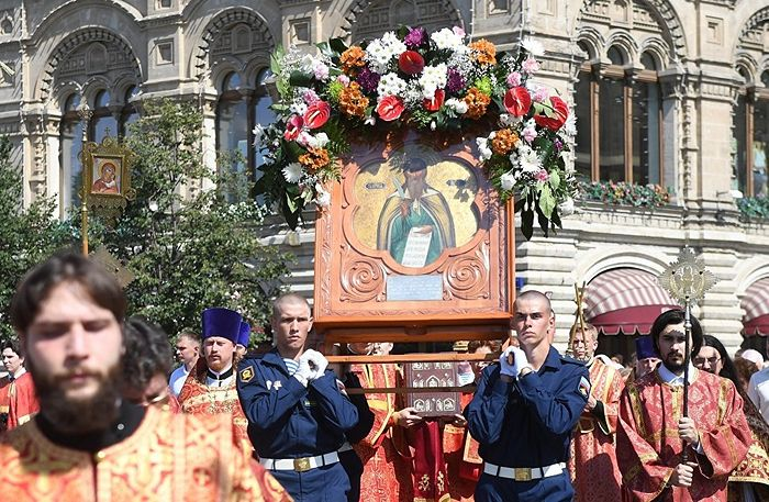 Празднование Дня ВДВ на Красной площади. Фото: РИА Новости / Илья Питалев