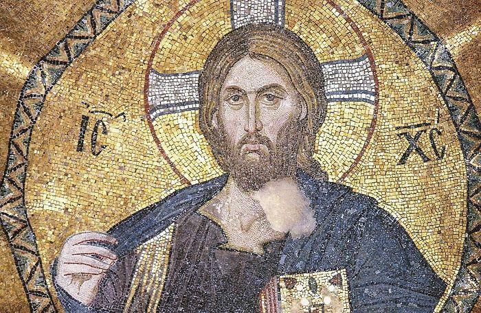 Христос Пантократор, Мозаика