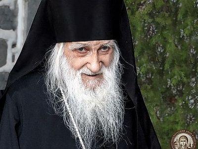 Годовщину преставления старца-игумена Иереми (Алехина) молитвенно почтили в Пантелеимоновом монастыре