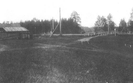 Переезд №184. Фотография Н. Соколова 1919 г.