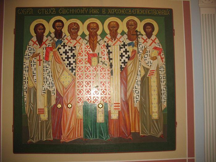 Икона Семи священномучеников Херсонесских