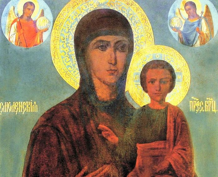 Чудотворная Смоленская икона Божией Матери из с. Бунырево