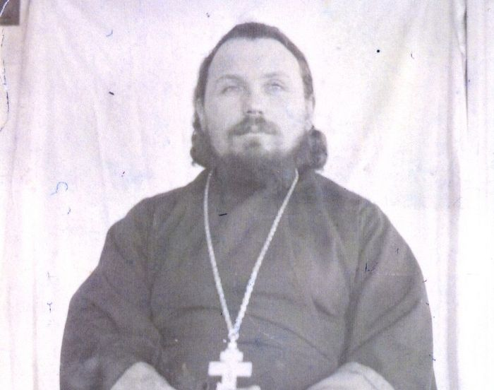 Священник Петр Воскресенский. Около 1905 г.