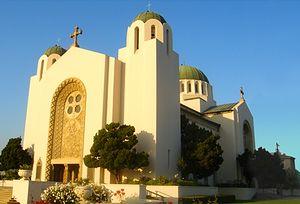Собор св. Софии в г. Лос-Анджелес
