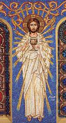 Фреска оболганного Хэнксом Христа в соборе св. Софии. Лос-Анджелес.