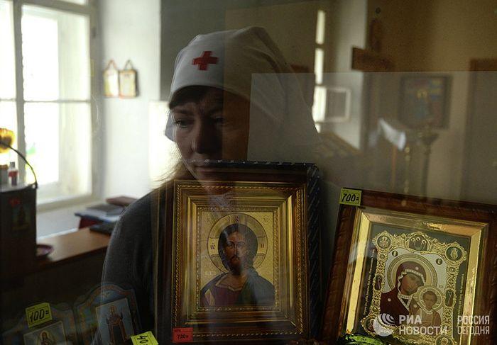 РИА Новости / Константин Чалабов. Сестра милосердия. Архивное фото