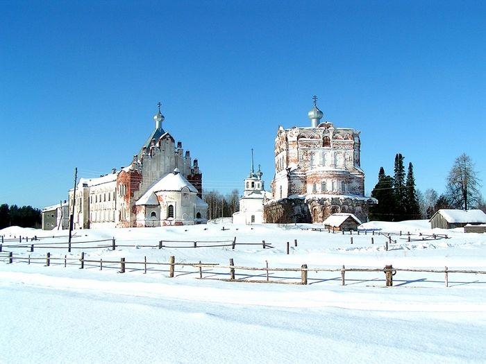 Артемиево-Веркольский монастырь. Фото: www.verkola.ru