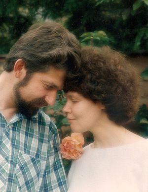 Супруги Игорь Геращенко и Ирина Ратушинская