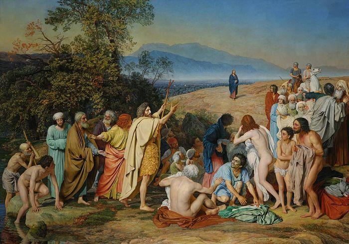 «Явление Христа народу» Александр Иванов (1806–1858)
