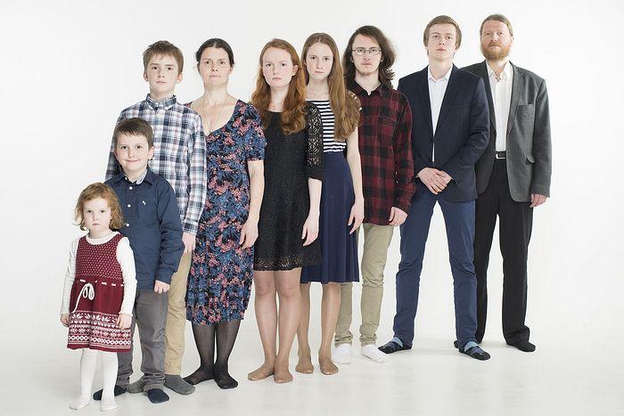 Семья Кривовичевых