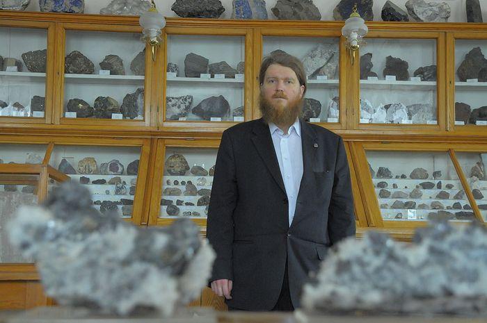 Сергей Владимирович Кривовичев, член-корреспондент Российской Академии наук и доктор геолого-минералогических наук, диакон