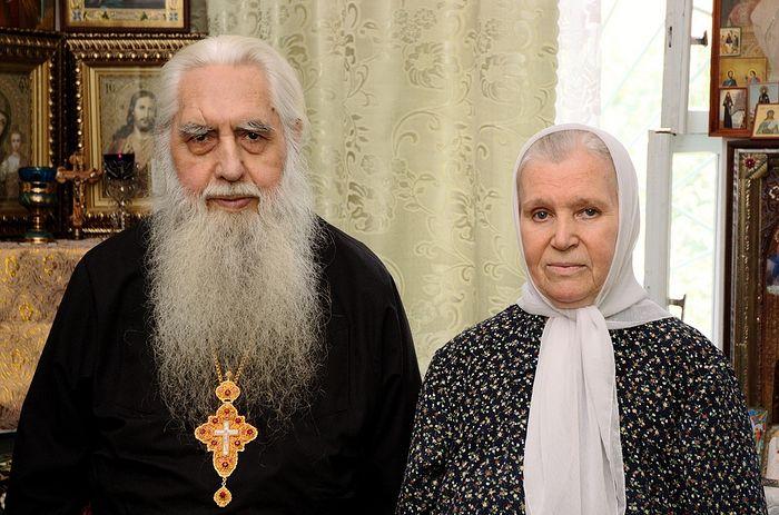О. Серафим и м. Серафима