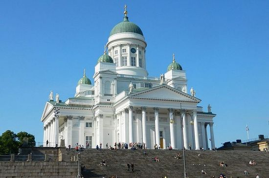 Helsinki's Lutheran Cathedral.