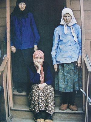 Ялтуновские старицы Анисия, Матрона и Агафия