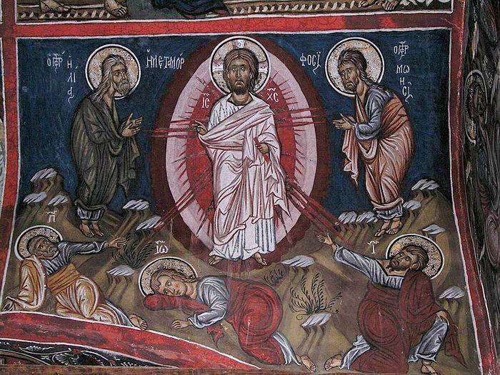 Преображение Господне. Кипрская фреска