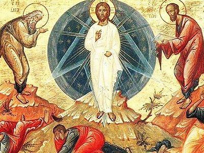 Всенощное бдение в Сретенском монастыре накануне праздника Преображения Господня