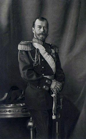 Emperor Nicholas II of Russia, 1913,