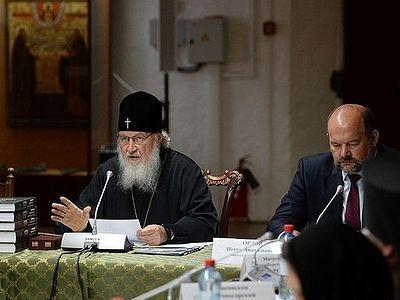 Патриарх Кирилл провел рабочее совещание по вопросам развития Соловецкого архипелага