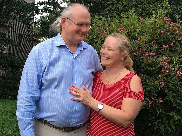 Юрий Богаткевич с женой Илоной