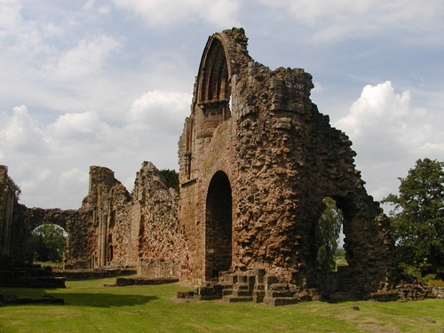 Lilleshall Abbey, Salop.