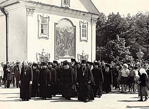 Почаевская братия. 1970-е гг.