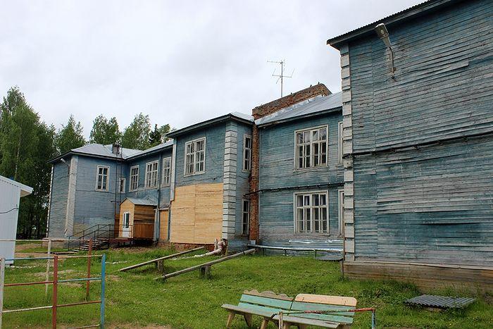Школа села Пыелдино