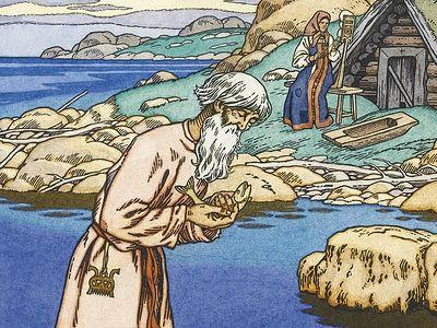 Попытка христианского прочтения «Сказки о рыбаке и рыбке»