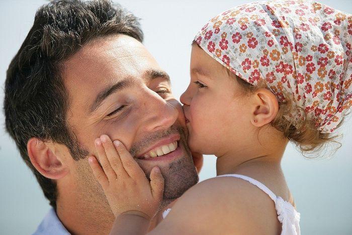У папы нет жены зато есть дочка