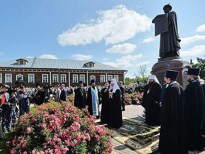 В Смоленске открыт памятник святому благоверному князю Владимиру Мономаху