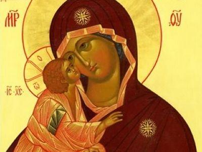 Божественная литургия в Сретенском монастыре в день празднования Донской иконы Божией Матери