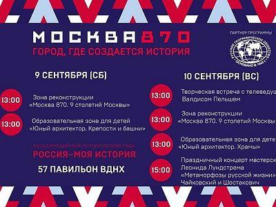 Исторический парк «Россия-Моя история» подготовил праздничную программу ко Дню города