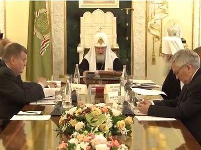 Патриарх Кирилл провел заседание Комитета по присуждению премий памяти митрополита Московского и Коломенского Макария (Булгакова)