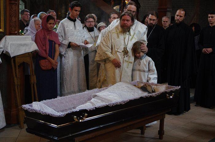 Отпевание Владимира Щербинина в Сретенском монастыре
