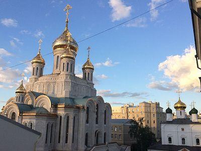 Божественная литургия в Сретенском монастыре в Неделю 14-ю по Пятидесятнице