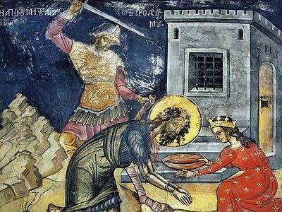 Всенощное бдение в Сретенском монастыре накануне Усекновения главы Крестителя Господня Иоанна