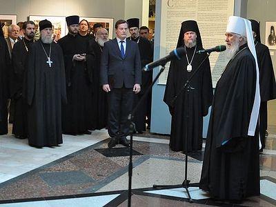 Выставка «История Православия Эстонии в фотографиях» открылась в Храме Христа Спасителя