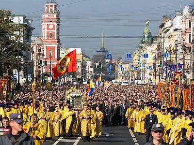 12 сентября в Санкт-Петербурге пройдет общегородской крестный ход
