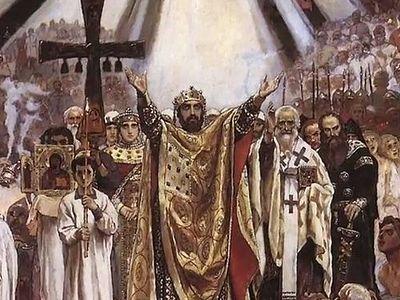На телеканале «Спас» будет показан фильм митрополита Илариона «Крещение Руси»
